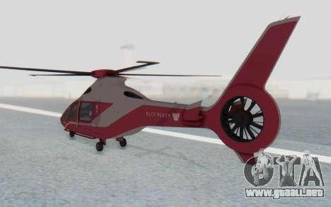 GTA 5 Buckingham Volatus v2 IVF para GTA San Andreas left