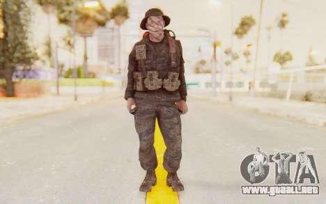 COD BO PVT Pepper Vietnam para GTA San Andreas segunda pantalla