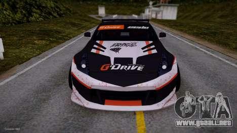 Nissan 350Z G-Drive Edition para GTA San Andreas left