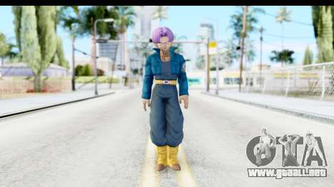 Dragon Ball Xenoverse Future Trunks SJ para GTA San Andreas segunda pantalla