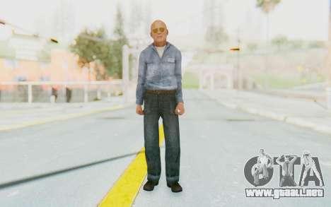 Mafia 2 - Jimmy Prison para GTA San Andreas segunda pantalla