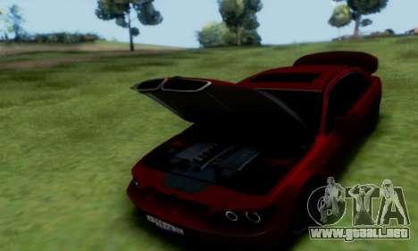BMW 760i para GTA San Andreas vista hacia atrás
