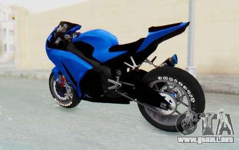 Honda CBR1000RR Streetrace para la visión correcta GTA San Andreas