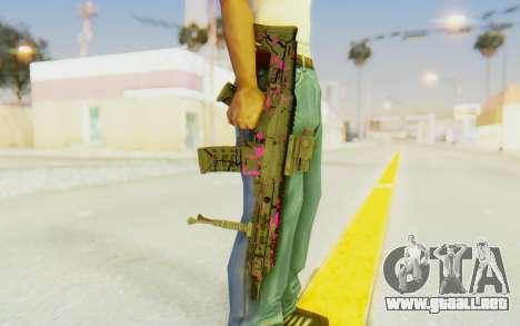 ACR CQB Magma Pink para GTA San Andreas tercera pantalla