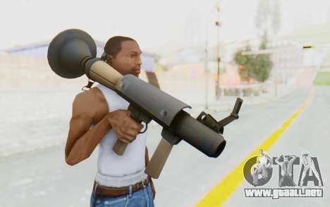 Rocket Launcher from TF2 para GTA San Andreas tercera pantalla