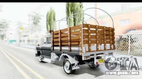 GMC 3100 Diesel para GTA San Andreas left