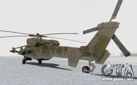 MGSV Phantom Pain HP-48 Krokodil para GTA San Andreas vista posterior izquierda