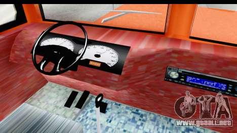 Dodge D600 v2 Bus para visión interna GTA San Andreas