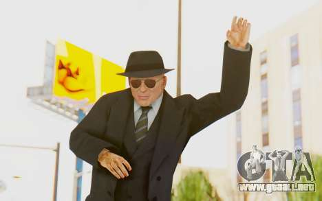 Mafia 2 - Jimmy Vendetta Black Suit para GTA San Andreas