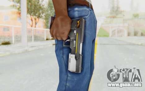 Yuri Pistol para GTA San Andreas tercera pantalla