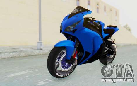 Honda CBR1000RR Streetrace para GTA San Andreas