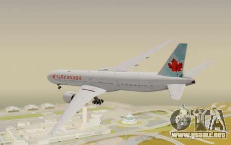 Boeing 777-300ER Air Canada para GTA San Andreas left