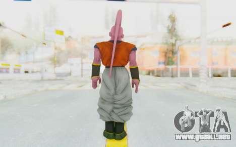 Dragon Ball Xenoverse Super Buu Gohan Absorbed para GTA San Andreas tercera pantalla