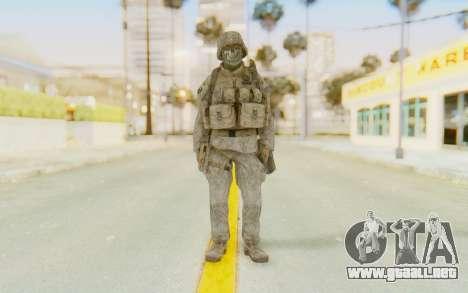 CoD MW2 Ghost Model v3 para GTA San Andreas segunda pantalla