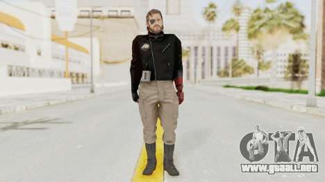 MGSV Phantom Pain Venom Snake Leather Jacket para GTA San Andreas segunda pantalla