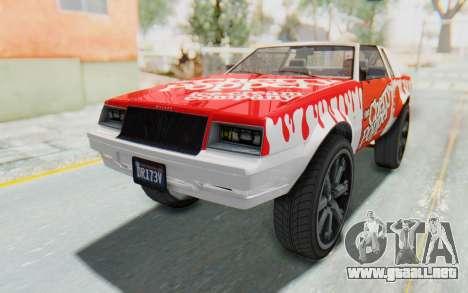GTA 5 Willard Faction Custom Donk v1 para vista lateral GTA San Andreas