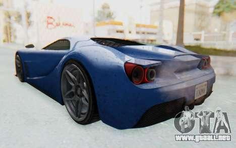GTA 5 Vapid FMJ para GTA San Andreas left