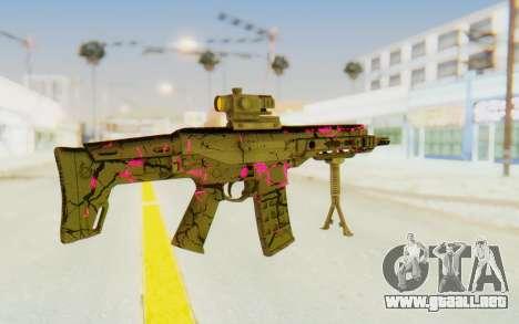 ACR CQB Magma Pink para GTA San Andreas segunda pantalla