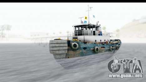GTA 5 Buckingham Tug Boat v1 IVF para la visión correcta GTA San Andreas