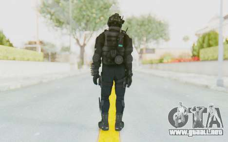 Federation Elite Shotgun Tactical para GTA San Andreas tercera pantalla
