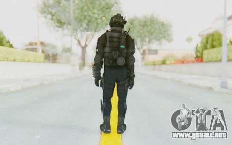 Federation Elite Shotgun Tactical para GTA San Andreas tercera pantalla