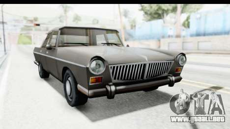Simca Vedette from Bully para la visión correcta GTA San Andreas