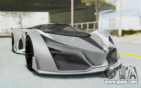 GTA 5 Grotti Prototipo v2 para la visión correcta GTA San Andreas