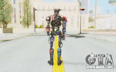 Marvel Future Fight - Ultron Mk1 para GTA San Andreas tercera pantalla