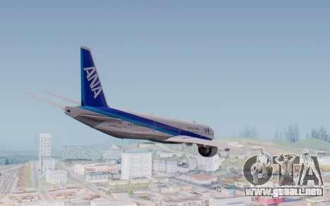 Boeing 777-300ER ZK-OKO - Smaug Livery para la visión correcta GTA San Andreas