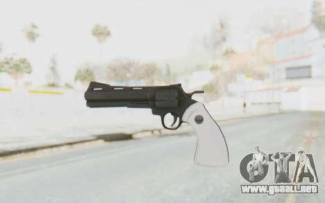 Revolver from TF2 para GTA San Andreas segunda pantalla