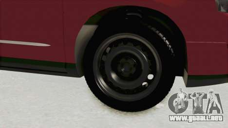 Volkswagen Passat B6 Variant para GTA San Andreas vista hacia atrás