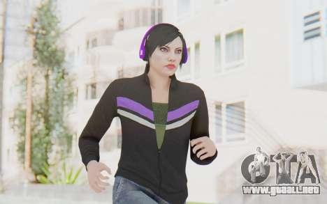 GTA Online Skin Female para GTA San Andreas