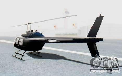 Bell 206B-III Jet Ranger Policja para GTA San Andreas left