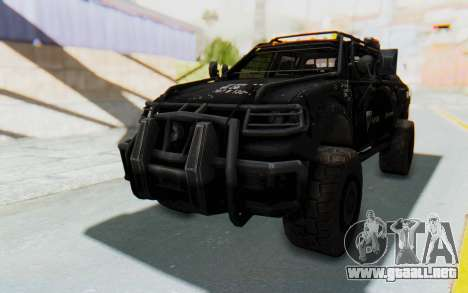 Toyota Hilux Technical Vindicator SecFor para GTA San Andreas