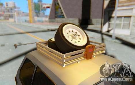 Fiat 126 para visión interna GTA San Andreas