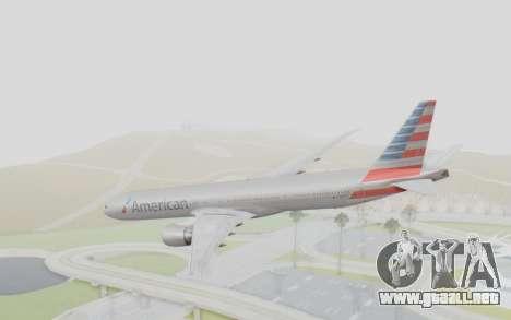 Boeing 777-300ER American Airlines N727AN para GTA San Andreas left