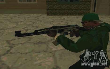AK-47 Vulcan (SA) para GTA San Andreas quinta pantalla