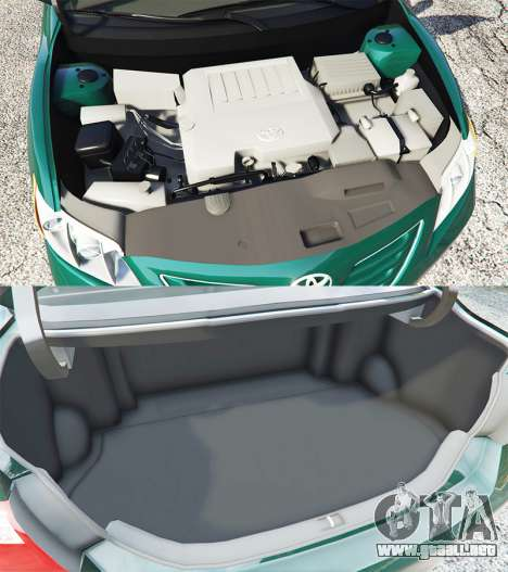 GTA 5 Toyota Camry V40 2008 [stock] vista lateral derecha
