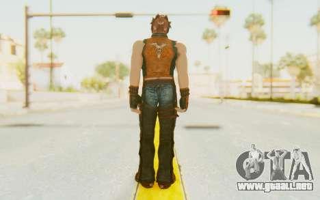 Hwoarang Skin para GTA San Andreas tercera pantalla