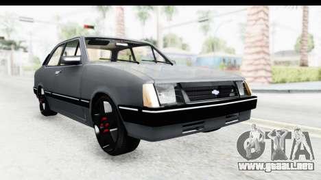 Chevrolet Chevette SL para la visión correcta GTA San Andreas