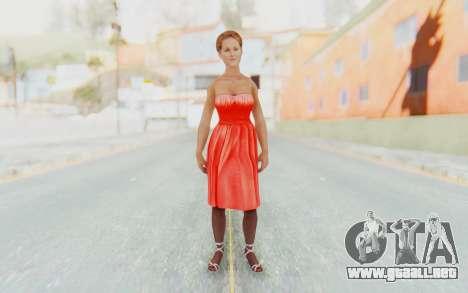 Mafia 2 - Joes Girlfriend para GTA San Andreas segunda pantalla