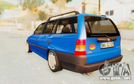 Opel Astra F Kombi 1997 para GTA San Andreas left