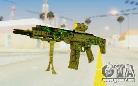 ACR CQB Magma Green para GTA San Andreas segunda pantalla