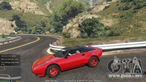 GTA 5 Impromptu Races 1.8 segunda captura de pantalla