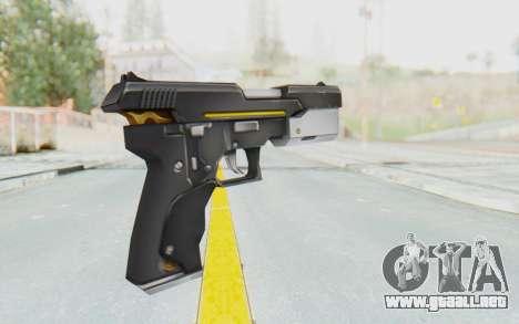 Yuri Pistol para GTA San Andreas segunda pantalla