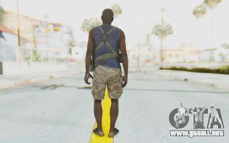 CoD MW3 Africa Militia v2 para GTA San Andreas tercera pantalla