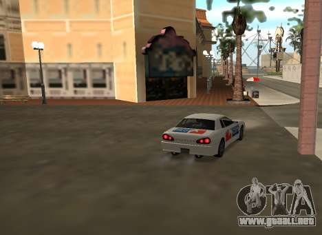 New vinyls for Elegy para GTA San Andreas vista posterior izquierda