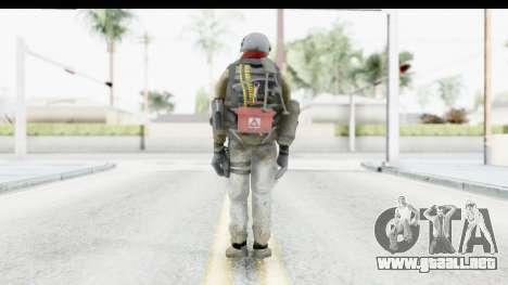 The Division Last Man Battalion - Support para GTA San Andreas tercera pantalla