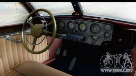 Cord 812 Charged Beverly Low Chrome para visión interna GTA San Andreas