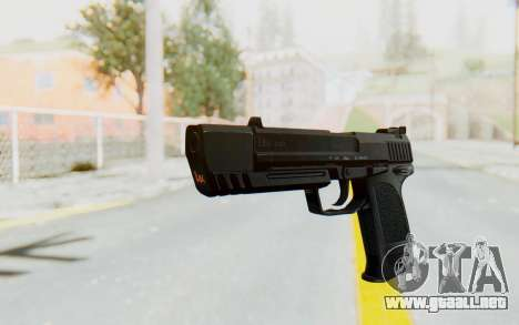 HK USP 45 Black para GTA San Andreas segunda pantalla